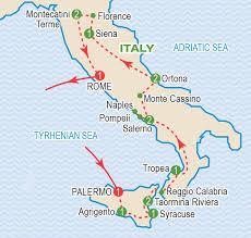 Pompeii Map The Italian Campaign November 2018 Craig Travel