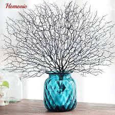 decorative tree branches online shop wedding decoration peacock coral branch plastic