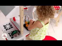 kidkraft modern island kitchen youtube