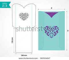 Pocket Envelopes Die Cut Pocket Envelope Template Stock Vector 339277052 Shutterstock