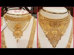 gold set for marriage gold sets design
