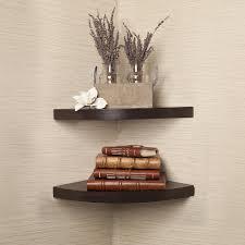 Walnut Bookshelves Top 10 Corner Shelves For Living Room