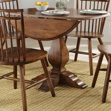 Drop Leaf Pedestal Table Liberty Furniture Industries Inc Dining Tables Creations Ii 38