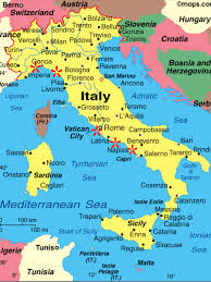Italy Map With Cities Trip Italy Map