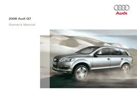 2008 audi q7 u2014 owner u0027s manual u2013 428 pages u2013 pdf