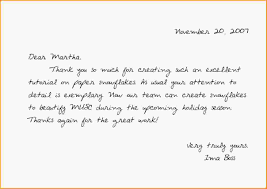 thank you letter to coworker gallery letter format exles