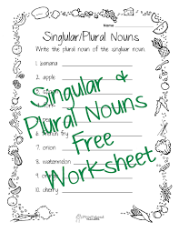 ideas collection singular and plural possessive nouns worksheets