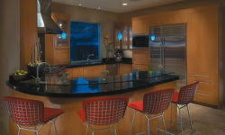 Make Your Own Kitchen Island by Open Shelves Above Kitchen Cabinets In