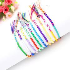 bracelet string images Bohemian bracelets brazil cheap rainbow handmade weave woven jpg