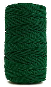 rosary twine rosary twine twisted size 36 green 1 lb 1
