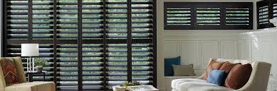 wood shutters interior shutters heritance hunter douglas wooden shutters in hardwood espresso heritance