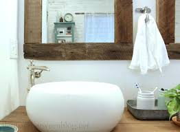 Bathroom Mirror Frame Kit Bathroom Mirror Frames Do It Yourself How To A Modern With