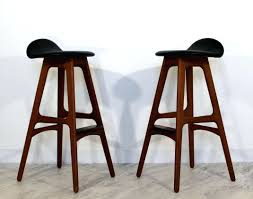 danish bar stools buy mid century modern brown bar stool online grotto mid century
