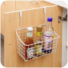 2017 new kitchen cabinet door back storage rack organizer hanging