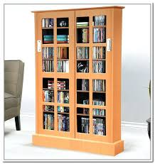 Cd And Dvd Storage Cabinet With Doors Oak Finish Library Cd Storage Cabinet Uk Cd And Dvd Storage Cabinet With