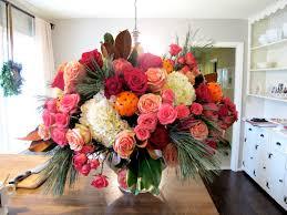 Traditional Flower Arrangement - jenny steffens hobick entertaining holiday flower arrangement