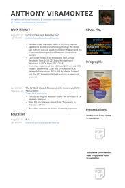 Undergraduate Resume Example by Undergraduate Researcher Cv örneği Visualcv özgeçmiş örnekleri