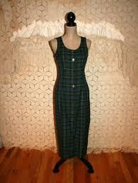90s sleeveless maxi dress button up jumper dress by magpieandotis