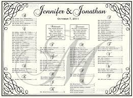 wedding seat chart template wedding reception seating chart poster template items similar to
