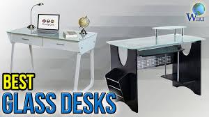 Glas Desk 10 Best Glass Desks 2017 Youtube