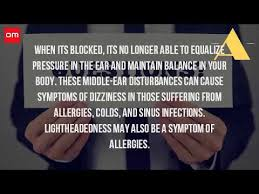 can sinus infection cause dizziness light headed can dizziness be caused by sinus problems youtube
