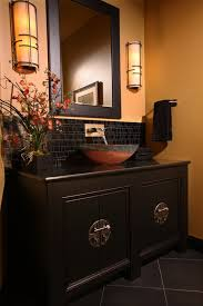 Bathroom Backsplash Ideas And Pictures Colors 28 Gorgeous Bathrooms With Dark Cabinets Lots Of Variety