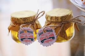buy wedding labels style lettering on gifts for the guests