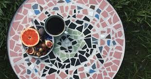 Diy Mosaic Table Gretchen Gretchen Mosaic Table Diy