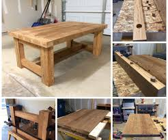 prissy wood working project coffee table diy home hacks easy