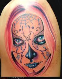 day of the dead tattoo tattoomagz