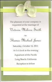 invitation for wedding format pacq co