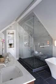 Bathroom In Loft Conversion The 25 Best Attic Bathroom Ideas On Pinterest Green Small