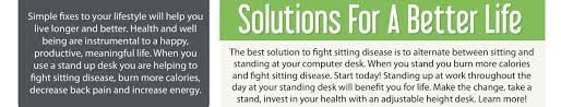 using a sit to stand desk will change your life for the better