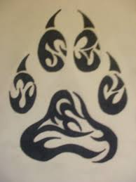 moon and tribal wolf tattoo design photo 5 real photo pictures