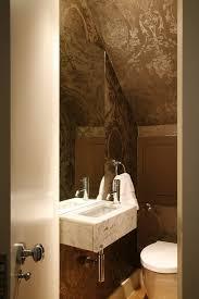 Powder Room Towels - san francisco ralph lauren wallpaper bathroom contemporary with