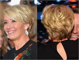 the best hairstyles for women over 50 emma thompson haircuts