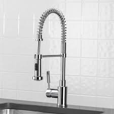 Commercial Style Kitchen Faucets Kraus Kpf 1602ss Single Handle Pull Down Kitchen Faucet Kohler