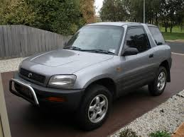 just purchased 1995 rav4 3dr cruiser in australia needs