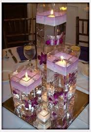 purple wedding centerpieces fascinating cheap candle centerpieces for wedding 1000 ideas about