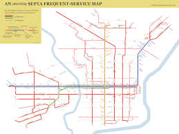 septa map this unofficial septa map highlights what riders really care about