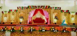 Wedding Reception Stage Decoration Images Reception Stage Decoration Done At Anthoniyar Mahal St Antony U0027s