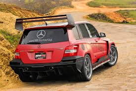 tuner cars wallpaper renntech mercedes benz glk pikes peak rally racer picture 10227