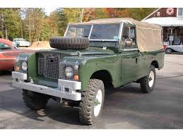 military jeep tan 1969 land rover military jeep for sale classiccars com cc 911260