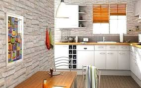 papier peint pour cuisine blanche chouette la cuisine avec un