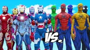 blue hulk red hulk green hulk pink hulk spiderman