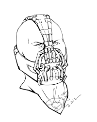 7 images of batman vs bane coloring pages batman bane coloring