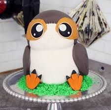 wars cake the party project wars cake the last jedi porg cake tutorial