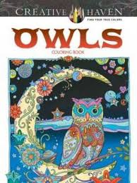 25 Best Coloring Books Pages For Adults To Relieve Stress How Owl Coloring Ideas
