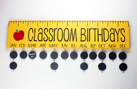 birthday board classroom birthday board with chalkboard discs