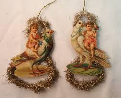 120 best scrap ornaments images on vintage